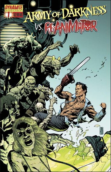 Army of Darkness vs Re-Animator 1-D by Dynamite Entertainment