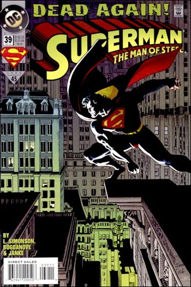 Superman: The Man of Steel 39-A by DC