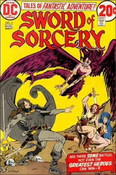 Sword of Sorcery (1973) 3-A by DC