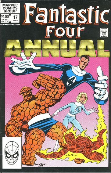 Fantastic Four Annual  17-A by Marvel
