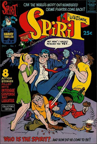 Spirit (1966) 1-A by Harvey