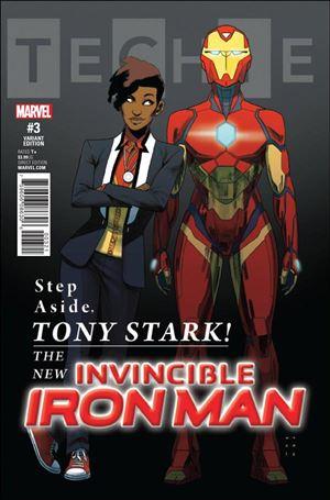 Invincible Iron Man (2017) 3-B