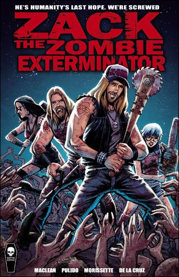 Zack, the Zombie Exterminator 1-A by Coffin Comics