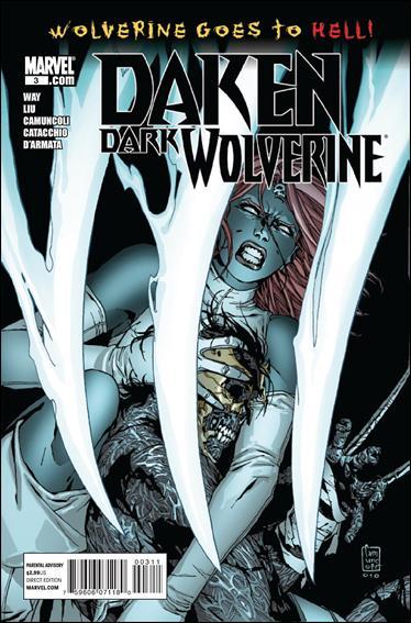 Daken: Dark Wolverine 3-A by Marvel