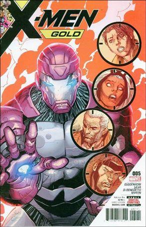 X-Men: Gold (2017) 5-A