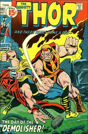 Thor (1966) 192-A by Marvel