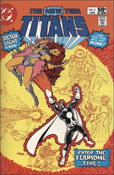 New Teen Titans (1980) 3-A by DC