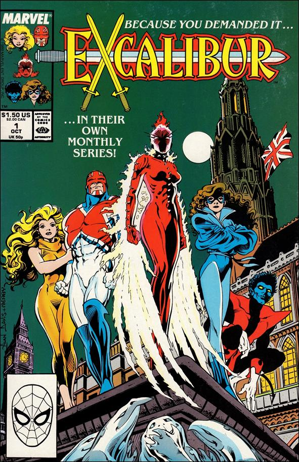 Excalibur (1988) 1-A by Marvel