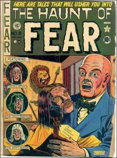 Haunt of Fear (1950) 8-A by E.C.