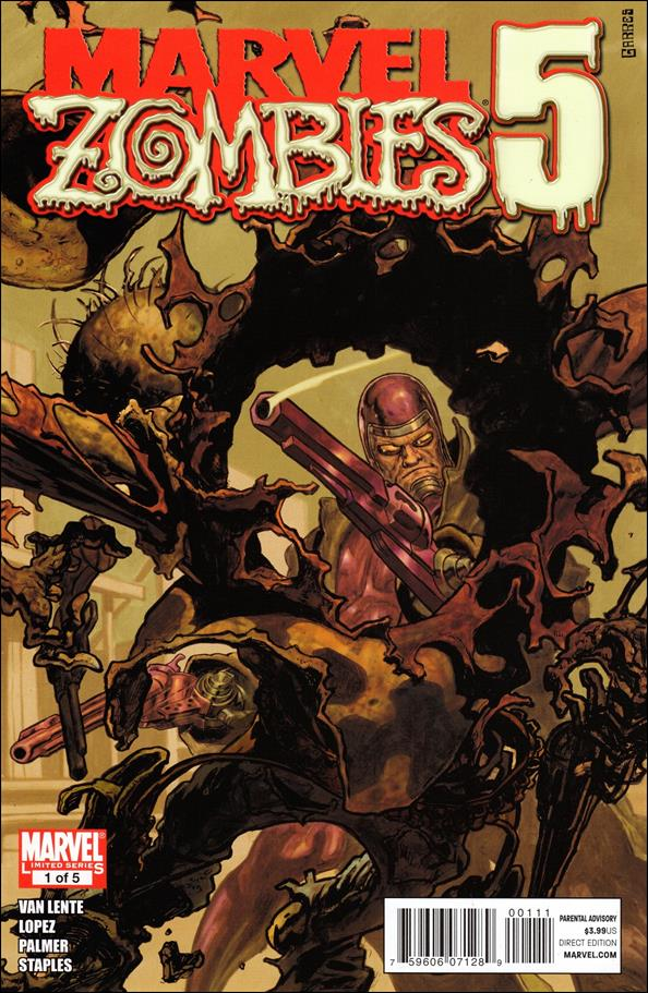 Marvel Zombies 5 1-A by Marvel