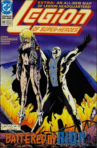Legion of Super-Heroes (1989) 26-A by DC