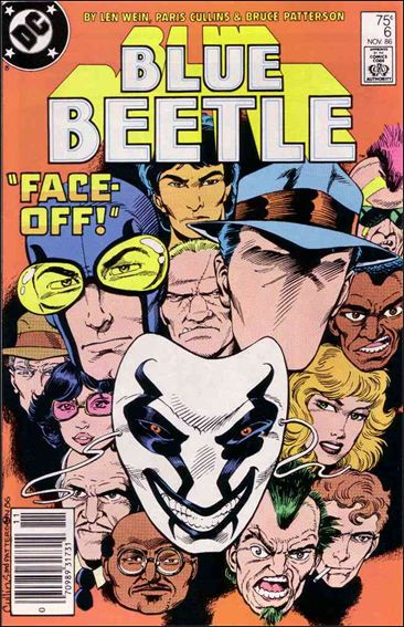 Blue Beetle (1986) 6-A by DC