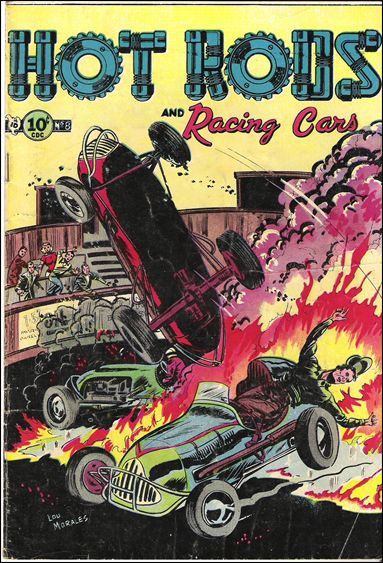 Hot Rods and Racing Cars 8-A by Charlton