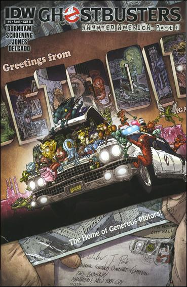 Ghostbusters (2011) 9-B by IDW