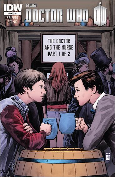 Doctor Who (2012) 3-A by IDW