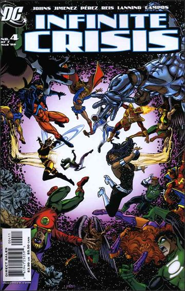 Infinite Crisis 4-A by DC
