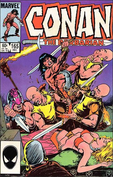 Conan the Barbarian (1970) 165-A by Marvel