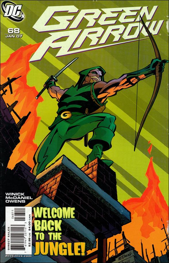 Green Arrow (2001) 68-A by DC