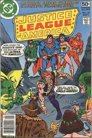 Justice League of America (1960) 158-A