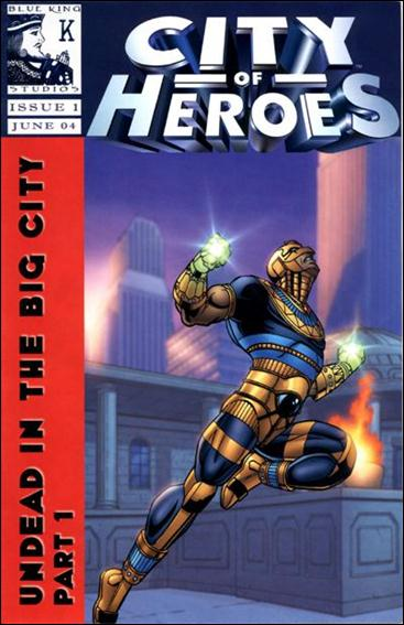 City of Heroes (2004) 1-A by Blue King Studios