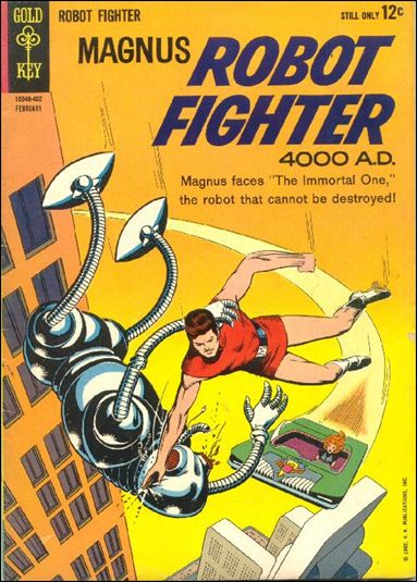 Magnus, Robot Fighter (1963) 5-A by Gold Key