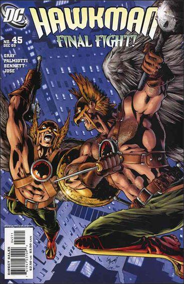 Hawkman (2002) 45-A by DC