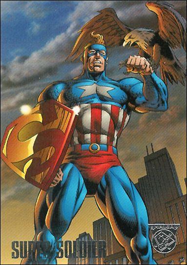 Amalgam Comics 1 A Jan 1996 Trading Card By Fleer Skybox