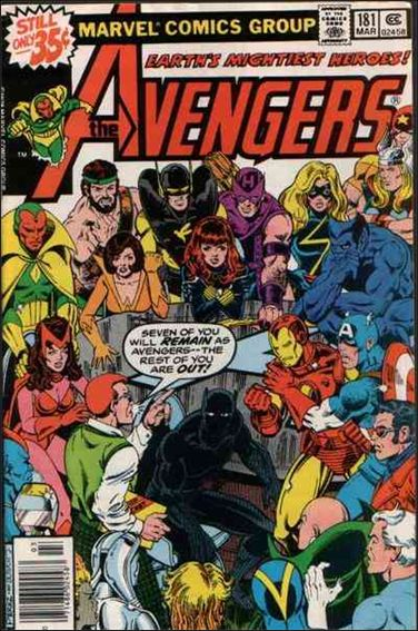 Avengers (1963) 181-A by Marvel