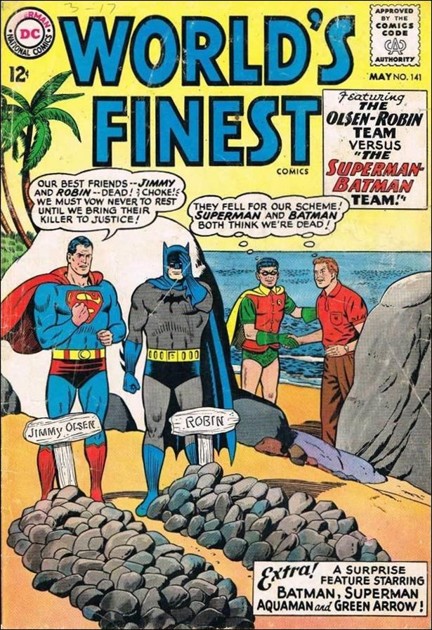 World's Finest Comics 141-A by DC