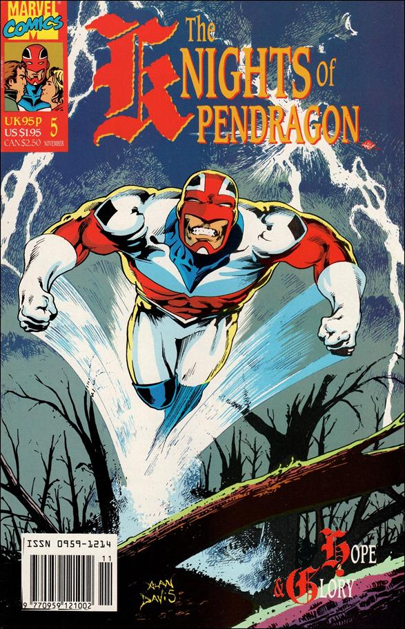Knights of Pendragon (UK) (1990) 5-A by Marvel UK