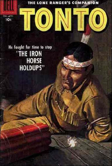 Lone Ranger's Companion Tonto 26-A by Dell