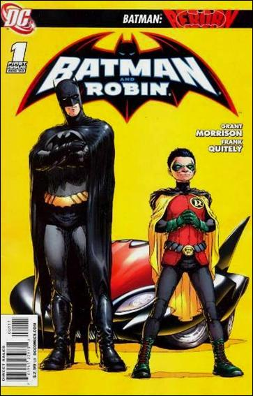 Batman and Robin (2009) 1-A by DC