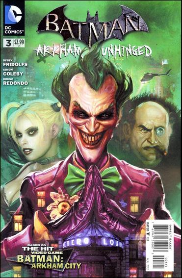 Batman: Arkham Unhinged 3-A by DC