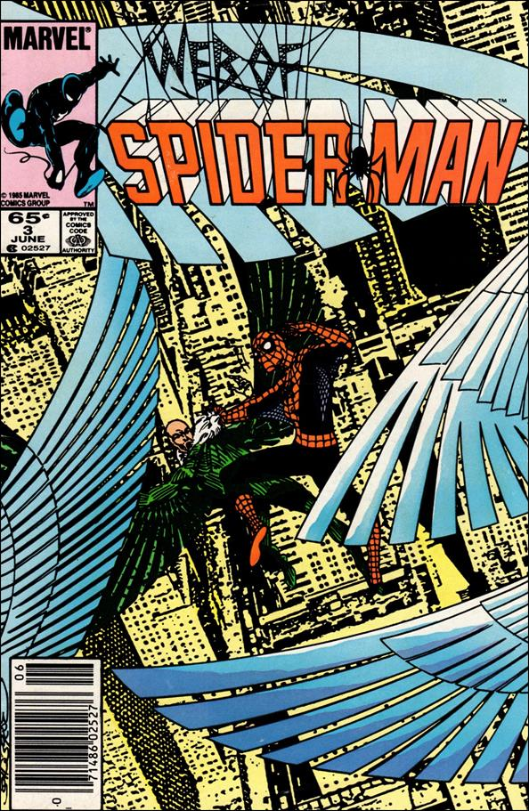 Web of Spider-Man (1985) 3-A by Marvel
