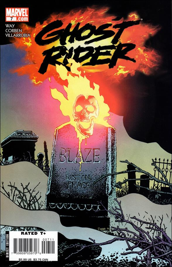 Ghost Rider (2006) 7-A by Marvel
