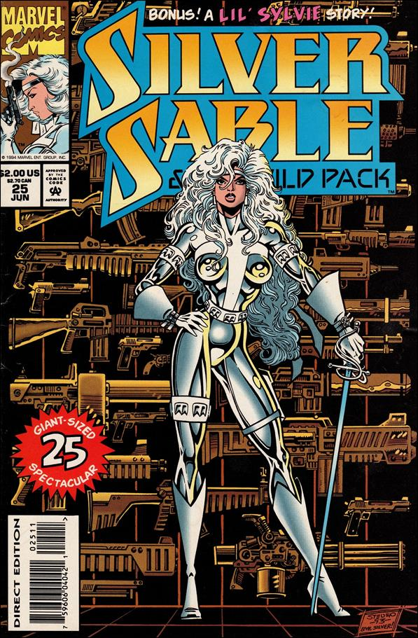 Silver Sable & The Wild Pack 25-A by Marvel