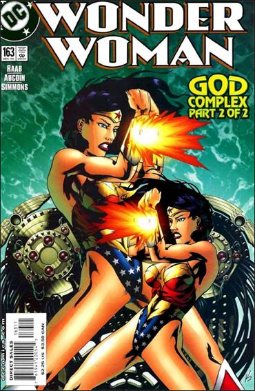 Wonder Woman (1987) 163-A by DC