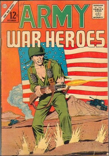 Army War Heroes 1-A by Charlton
