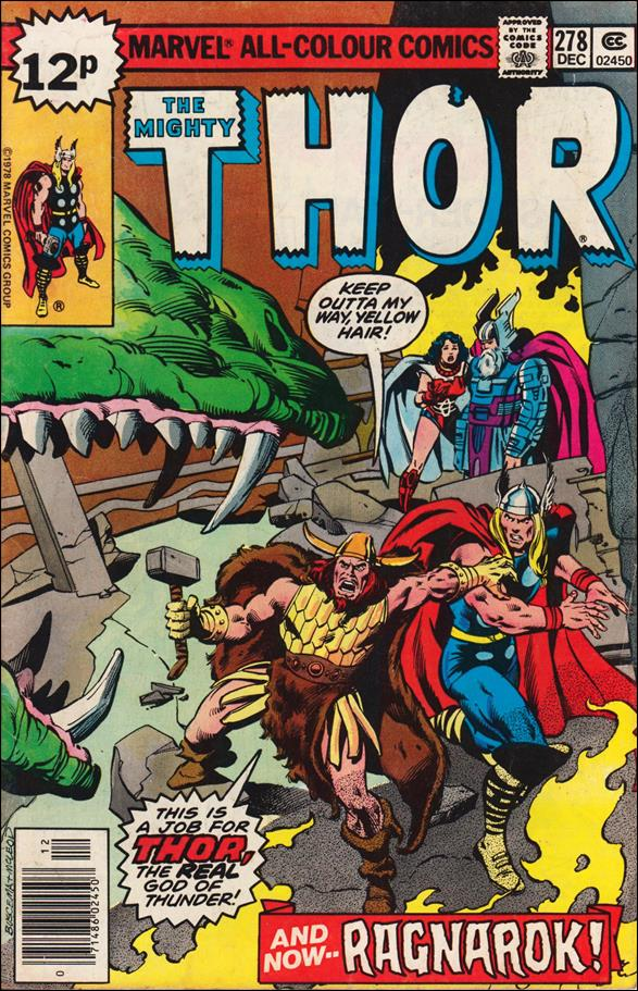 Thor (1966) 278-B by Marvel