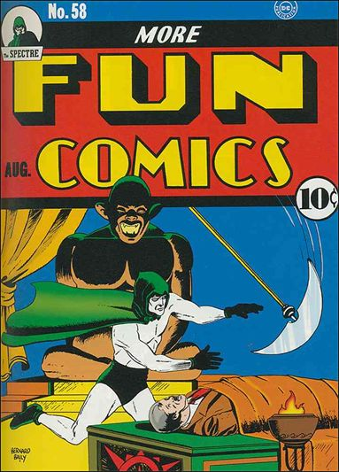 More Fun Comics 58-A by DC