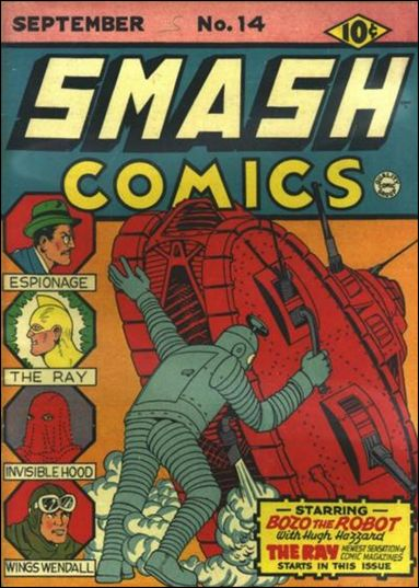 Smash Comics (1939) 14-A by Quality