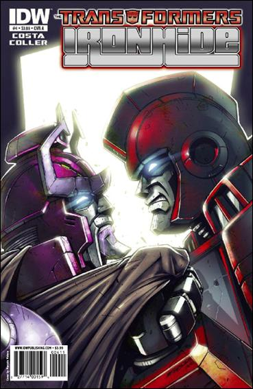 Transformers: Ironhide 4-A by IDW