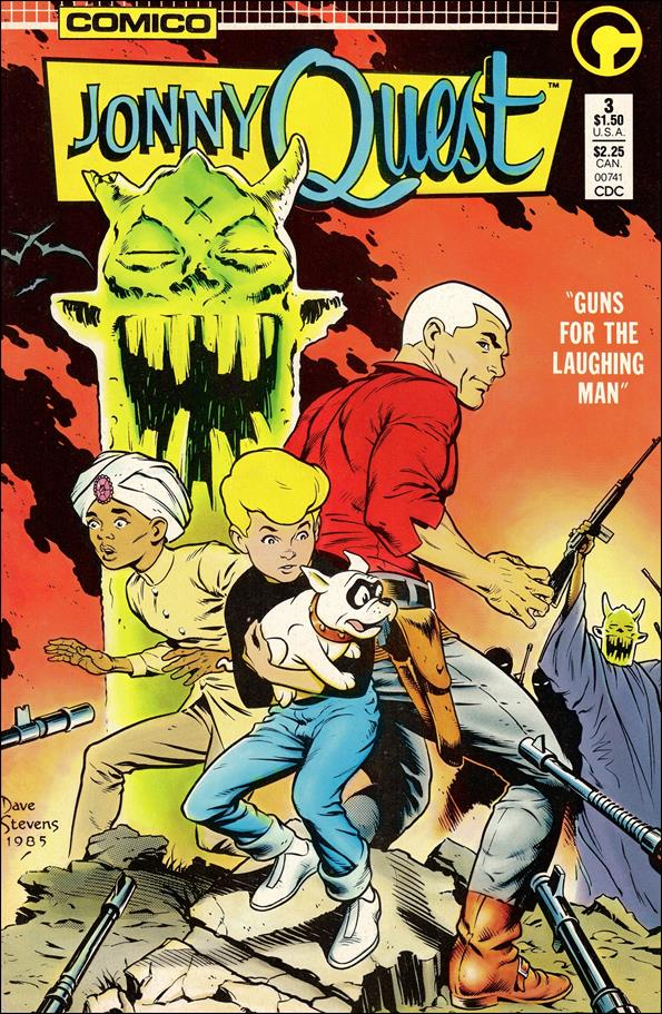 Jonny Quest (1986) 3-A by Comico