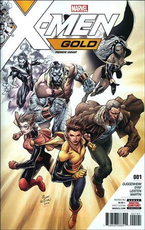 X-Men: Gold (2017) 1-K