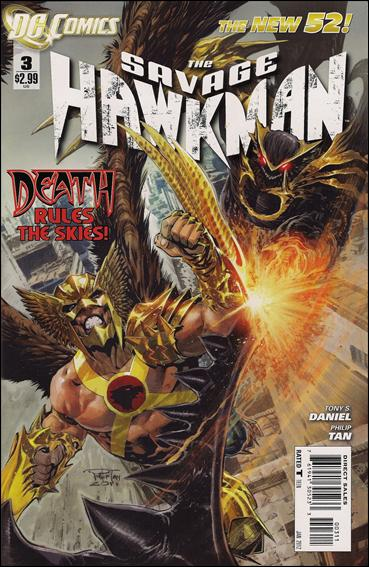 Savage Hawkman 3-A by DC