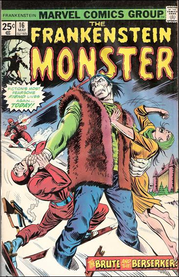 Frankenstein (1973) 16-A by Marvel
