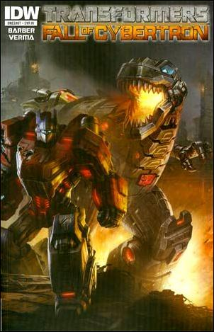 Transformers: Fall of Cybertron 1-B by IDW