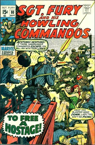 Sgt. Fury and His Howling Commandos 80-A by Marvel