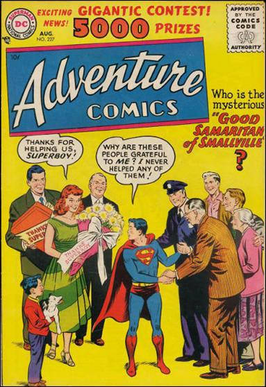 Adventure Comics (1938) 227-A by DC