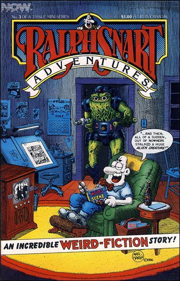 Ralph Snart Adventures (1986/06) 3-A by Now Comics
